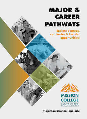 Cover of Major and Career Pathways Brochure.